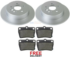 296MM DISC FOR TOYOTA RAV 4 2.0 VVTi 2.2 D-4D 06-12 FRONT AND REAR BRAKE PADS