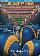 1984 Los Angeles Rams Media Guide 175 Pages - Eric Dickerson - Vince Ferragamo