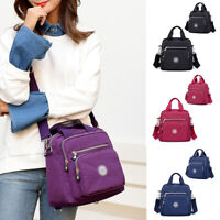 Women Leisure Laptop Backpack Zipper Crossbody Bag School Bag Shoulder Tote New