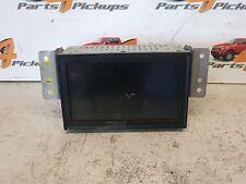 Sat Nav Unit Screen 8750A111 Mitsubishi L200 Kb4 Automatic 2006-2012