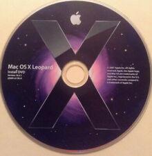 Retail Apple Mac Leopard OS X 10.5 (OS 10.5.1) w/ OS 10.5.8 ComboUpdate DVD