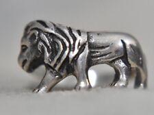 Lion Ring Big Cat Vintage Leo Birthday August Sterling Silver Southwest Size 6.5