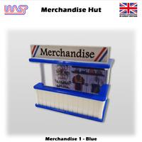 Slot Car Track Scenery Merchendise Hut Blue 1:32 Scale Wasp