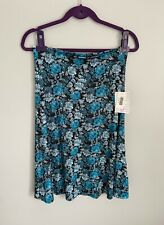 LuLaRoe AZURE Skirt Dress Top Size Medium NEW With Tags