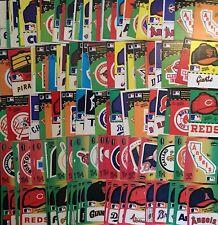 Fleer Baseball Team Logo Hat Stickers (1982-1985) / U Pick Choose Buy4+ Save 25%