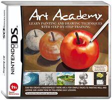 NDS DSI Spiel Art Academy: Zeichen und Maltechniken NEU