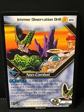 DBZ CCG INTENSE OBSERVATION DRILL 120 RARE KID BUU SAGA SCORE DRAGON BALL Z