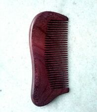 Purple Nice 8-2 Natural Violet Wood Fine-toothed Health Care Comb