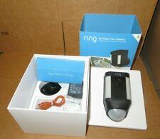 Ring Spotlight Cam Battery Outdoor Security Camera & Spotlight 8SB1S7-NENO