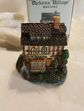 1986 Department 56 Dicken's Village Golden Swan Baker House  Mint in Box