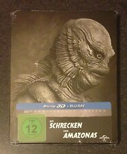 CREATURE FROM THE BLACK LAGOON 3D Blu-Ray SteelBook Germany Region Free New Rare