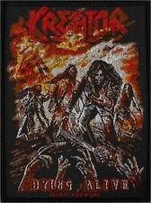 KREATOR - Dying Alive - Woven Patch / Aufnäher
