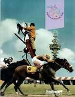1993 PIMLICO PREAKNESS HORSE RACING PROGRAM - PRAIRIE BAYOU & MIKE SMITH!