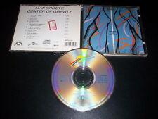 Max Groove – Center Of Gravity CD Optimism Incorporated – OP CD-3108 Usa 1988
