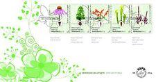 Nederland 2017  Botanische tuinen   bloemen planten   FDC'S  749 A EN B