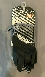 Fly Racing 907 Cold Weather Race Glove Black Size Large/10 NEW Fast Shipping