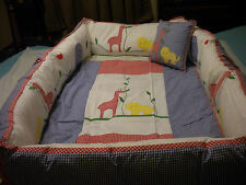 NOAH'S ARK CRIB BEDDING
