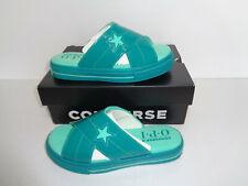 Converse New Ladies Womens Green Shoes Flip Flops Sandals RRP £30 Size 4