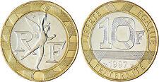 10  FRANCS  GENIE  1997  ,  SUPERBE  A  FLEUR  DE  COIN