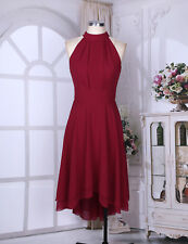 Women Ladies Gorgeous Chiffon Bridesmaid Dress Evening Party Cocktail Prom Gown