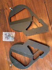 american hard bag 10 inch speaker mount Kit Left & Right W/ Hardware