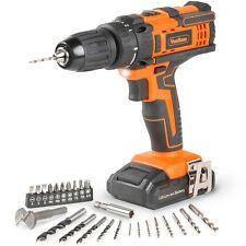 VonHaus 18V Cordless Drill Driver with 26pc Accessory Set