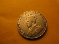 Canada 1926 Near 6 Rare 5 Cent Coin ID#B.