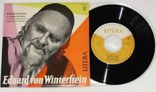 """EDUARD VON WINTERSTEIN Nathan Der Weise 7"""" Vinyl LITERA 1964 * RAR"""