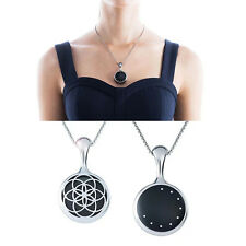 Necklace Stainless Steel Pendant Sleep Fitness Monitor for Misfit Shine