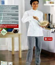 Koch-set Kochset Damen 2-teilig Gr 36 Gastro Kochbekleidung