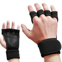 Weightlifting Half Finger Glove Fitness Anti-skid Wrist Wrap Gym Training Cover
