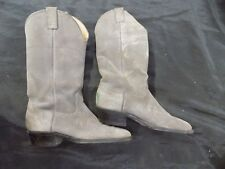NOCANA Boots Size 7 D N32522 4026 Western Cowboy Suede Rodeo Boots