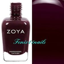 ZOYA ZP912 ELAINE dark brown cream nail polish ~ SOPHISTICATES Collection NEW