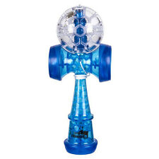 Duncan Chameleo Torch Kendama LED Glow Blue and Clear White Light Up