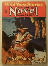 WILD WEST STORIES AND COMPLETE NOVEL MAGAZINE pulp November 1934