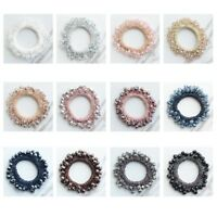 Crystal Beads Elastic Hair Band Ties Rope Ponytail Holder Girls Hair Accessories