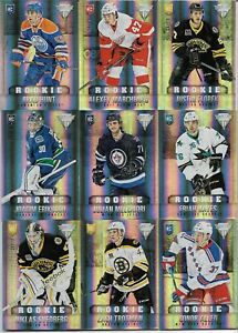 2013-14 TITANIUM Hobby True Rookie RC Jersey # PICK FROM LIST