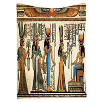 Egyptian Decor Collection, Egyptian Papyrus Depicting Queen Nefertari Makin F3C5