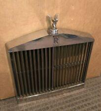 1967-1971 Rolls Royce Silver Shadow Front Radiator Grille OE W/Spirit Of Ecstasy