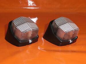 2 x Hella Begrenzungsleuchte schräg für Wohnwagen Anhänger Begrenzungsleuchten