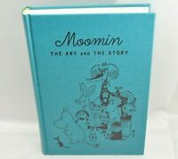 Moomin exhibition THE ART AND THE STORY Catalog illustration book Tove Jansson
