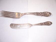 RICHELIEU International Sterling Silver Flatware Fork, Butter Spreader no junk