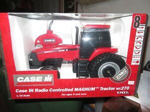 ERTL 1/16 CASE IH Radio Controlled Magnum Tractor MX270 NIB LOOK