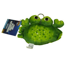 Adventure Planet Plush - CRAB (GREEN) (keychain - 5 inch) - New Stuffed Animal