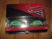 Disney Pixar Cars 3 Hit & and Run 2 Pack NEW
