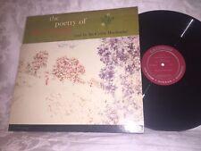 SIR CEDRIC HARDWICKE - THE POETRY OF WORDSWORTH - VINTAGE CAEDMON RECORDS LP