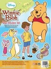 Disney Winnie The Pooh Wall Sticker Kit. Walls. Reusable. Kids Furniture.Toybox