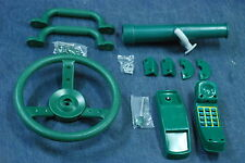 Swingset Accessory Kit,Playground Kit,Steering wheel,telescope,toy phone,handles