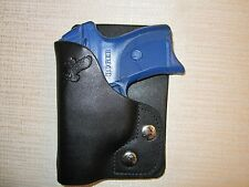 Ruger lc9, Kahr pm,cm,cw 9, 40 & 45,leather right hand, wallet holster & pocket