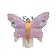 Purple Butterfly Night Light